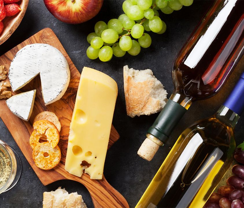 Wine and cheese route